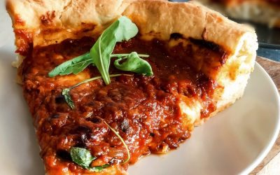 DEEP DISH PIZZA (CHICAGO STYLE)