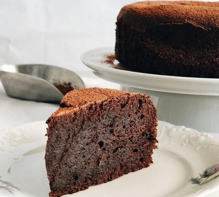NAJBOLJA ČOKOLADNA TORTA BEZ BRAŠNA